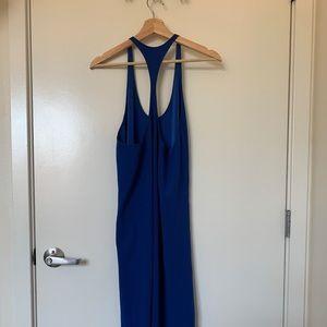 Aritzia Wilfred Cobalt Blue Dress